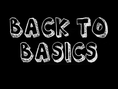 Le blog de Peio (c) Billet #1306 - Back to basics