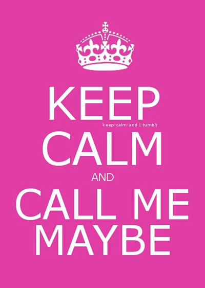 Le blog de Peio (c) Billet #1347 - Call me maybe